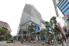 Grande magazzino del centro commerciale Singapore immagine stock