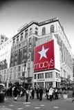 Grande magazzino del Macy Fotografia Stock Libera da Diritti
