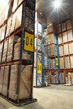 Grande magazzino freddo Fotografia Stock Libera da Diritti