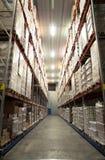 Grande magazzino freddo Immagine Stock Libera da Diritti
