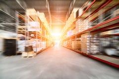 Grande magazzino industriale fotografia stock