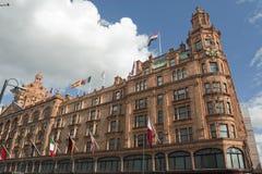 Grande magazzino a Londra Fotografie Stock
