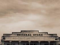 Grande magazzino occidentale dell'annata Fotografie Stock