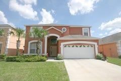 Grande maison de la Floride Photos stock