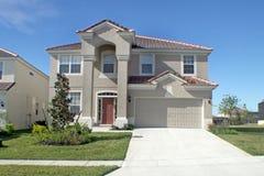 Grande maison de la Floride Photographie stock libre de droits