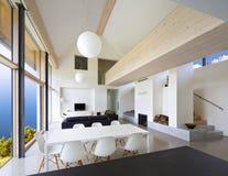 grande maison de luxe intérieure Photographie stock libre de droits