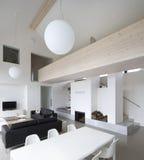 Grande maison de luxe intérieure l Images libres de droits