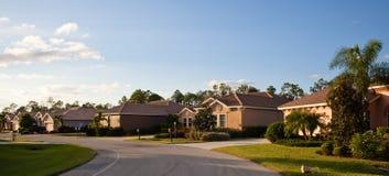 Grande maison tropicale en Floride Photographie stock libre de droits