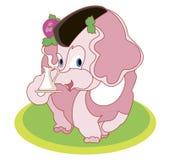 Grande maman - éléphant Image libre de droits