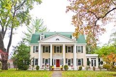 Grande mansão americana Foto de Stock