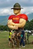 """grande marinaio del 21th †annuale di Marine Mud Run """" Immagini Stock"""