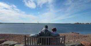 Grande Maris Harbor fotografie stock libere da diritti