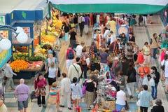 Grande mercado Salão de Budapest Fotos de Stock Royalty Free