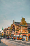 Grande mercado Salão em Budapest Foto de Stock Royalty Free