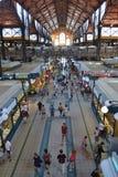 Grande mercato Corridoio a Budapest Immagine Stock