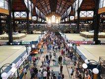 Grande mercato Corridoio a Budapest, Ungheria Fotografia Stock