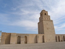 A grande mesquita imagens de stock