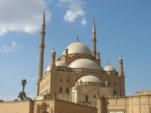 A grande mesquita da mesquita de Muhammad Ali Pasha ou do alabastro, o Cairo, Egito Fotografia de Stock