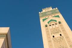 A grande mesquita de Hassan II em Casablanca, Marrocos Foto de Stock
