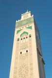 A grande mesquita de Hassan II em Casablanca, Marrocos Fotografia de Stock