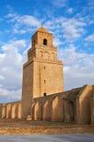 A grande mesquita de Kairouan Fotografia de Stock Royalty Free