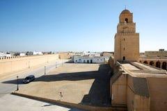 Grande mesquita de Kairouan Tunísia Imagens de Stock