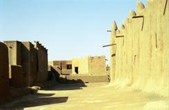 A grande mesquita, Djenne, Mali imagem de stock