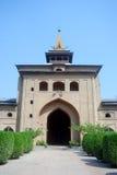 Grande mesquita, Srinagar, Kashmir, India foto de stock royalty free