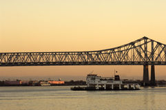 Grande Mississippi Fotografia de Stock Royalty Free