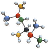 Grande molecola Fotografie Stock Libere da Diritti