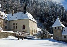 Grande monasterio chartreuse del La, Francia Foto de archivo