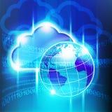 Grande mondo della nuvola Immagine Stock Libera da Diritti