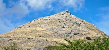 Grande montagna Fotografia Stock