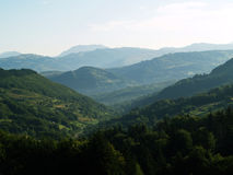 Grande montagna Fotografie Stock Libere da Diritti