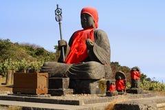 Grande montagna della statua-Zao del Buddha Fotografia Stock
