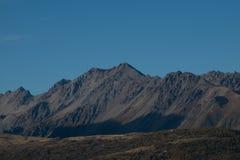 Grande montagna in isola del sud Nuova Zelanda Fotografia Stock