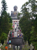 Grande montagne de Bouddha Photos stock