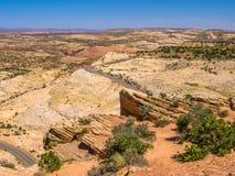 Grande monumento nazionale diScala-Escalante Fotografia Stock Libera da Diritti