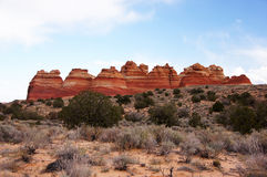 Grande monumento nazionale diScala-Escalante, Utah, U.S.A. Fotografia Stock Libera da Diritti