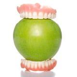 Grande morso della mela Fotografia Stock Libera da Diritti