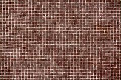 Grande mosaïque brune Image libre de droits