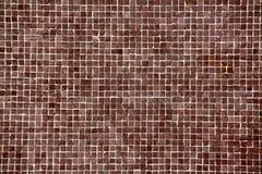 Grande mosaico marrone Immagine Stock Libera da Diritti