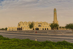 Grande moschea al primo mattino Fotografia Stock