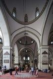 Grande moschea a Bursa, Turchia fotografia stock libera da diritti
