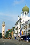 Grande moschea, Colombo, Sri Lanka immagine stock