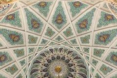 Grande moschea del moscato, Oman fotografie stock