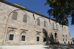 Grande moschea di Bursa in Turchia Fotografia Stock Libera da Diritti