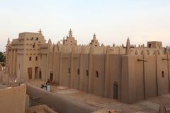 Grande moschea di Djenne, Mali Immagini Stock Libere da Diritti