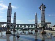 Grande moschea di Java Indonesia centrale Fotografia Stock