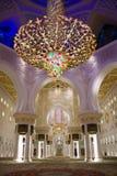 Grande moschea di Sheikh Zayed Fotografie Stock Libere da Diritti